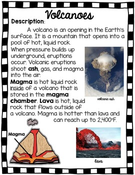 Volcano Research Unit with PowerPoint