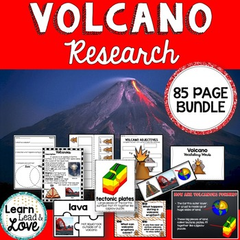 Volcano Research Unit with PowerPoint #halftimedollardeals