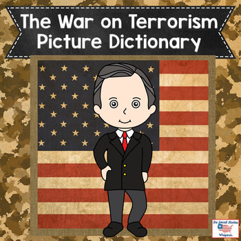 Differentiated War on Terrorism Vocabulary Picture Dictionary