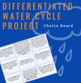 Differentiated Water Cycle Project- Journey of a Water Dro