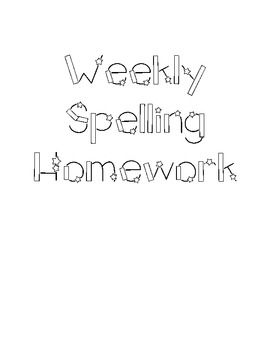 Differentiated Weekly Spelling Homework for Primary Grades Orton Gillingham