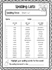 Differentiated Weekly Spelling Lists - Complete Yearly Bundle