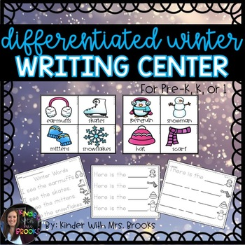 Differentiated Winter/January Writing Center