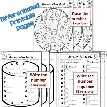 Winter Numbers to 20, Counting with Ten Frames Differentiated QR Code Task Cards