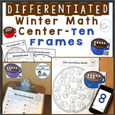 Winter Numbers to 20, Counting with Ten Frames Differentia