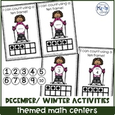 December/ Winter Themed Math Centers for Special Needs, EC