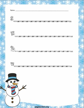 Differentiated Winter Writing Prompts