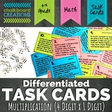 Differentiated Word Problem Task Cards: Multiplication (4 Digits by 1 Digit)