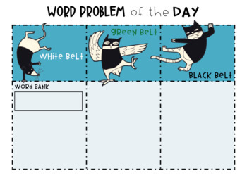 Differentiated Word Problem of the Day Template