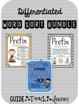 Differentiated Word Sort Bundle