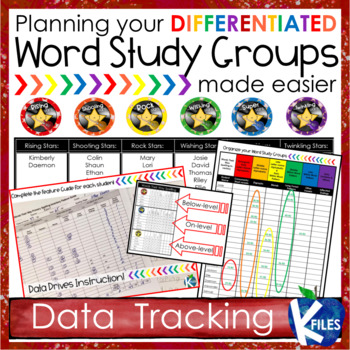 Differentiating Words Their Way: Organization & Routines BUNDLE