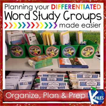 Words Their Way | Differentiate Your Word Study Groups!