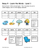 Differentiated Word Work & Vocabulary Packet - Bossy R