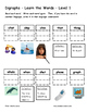 Differentiated Word Work & Vocabulary Packet - Digraphs