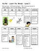 Differentiated Word Work & Vocabulary Packet - Dipthongs - Aw/Au