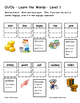Differentiated Word Work & Vocabulary Packet - Dipthongs - Oi/Oy