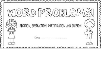 Differentiated Worded Problems Flip book