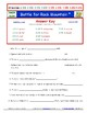 Differentiated Worksheet, Quiz, Ans - Magic School Bus - Battle Rock Mountain *