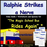 Differentiated Worksheet, Quiz Ans - Magic School Bus - Ra