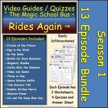 Differentiated Bundle - Magic School Bus - Rides Again Season 1 - 13 Episodes  *