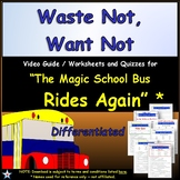 Differentiated Worksheet, Quiz Ans - Magic School Bus - Wa