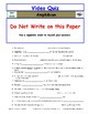 Differentiated Worksheet, Quiz, Ans for Eyewitness * - Amphibian