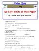 Differentiated Worksheet, Quiz, Ans for Eyewitness * - Dog