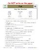 Differentiated Worksheet, Quiz, Ans for Eyewitness * - Fish