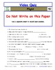 Differentiated Worksheet, Quiz, Ans for Eyewitness * - Flight