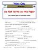 Differentiated Worksheet, Quiz, Ans for Eyewitness * - Monster