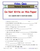 Differentiated Worksheet, Quiz, Ans for Eyewitness * - Natural Disasters