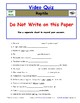 Differentiated Worksheet, Quiz, Ans for Eyewitness * - Reptile