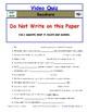 Differentiated Worksheet, Quiz, Ans for Eyewitness * - Seashore
