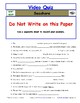 Differentiated Worksheet, Quiz, Ans for Eyewitness * - Seashore