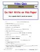 Differentiated Worksheet, Quiz, Ans for Eyewitness * - Shark