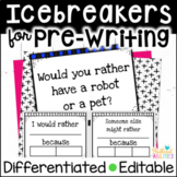 Differentiated Would You Rather Icebreaker Activities with