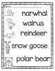 Differentiated Write the Room-Arctic Animals