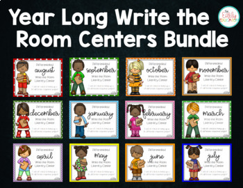 Differentiated Write the Room BUNDLE