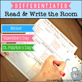 Read & Write the Room {Winter, Valentine's Day, St. Patric
