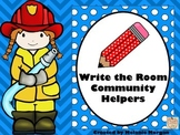 Differentiated Write the Room Community Helpers