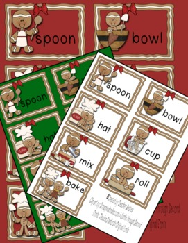 Differentiated Write the Room & Emergent Reader with the Gingerbread Man