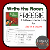 Red is a Dragon- Write the Room