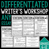 Differentiated Writer's Workshop: Grades 6-12