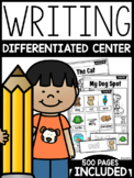 Differentiated Writing Center