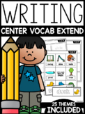 Differentiated Writing Center: VOCAB EXTENSION
