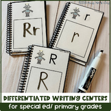 Differentiated Writing Centers for Special Needs/ ECE or Kinder