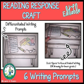 Differentiated Writing Craft Bundle - EDITABLE