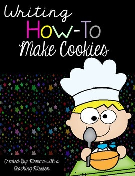 Differentiated Writing How to make cookies
