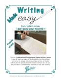 Differentiated Writing Lesson: Craft a Five-paragraph Opin