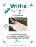 Differentiated Writing Lesson: State and Support an Opinion